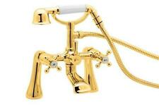 Deva TUD03/501 Gold Tudor Deck Mounted Bath Shower Mixer
