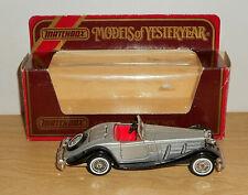 Matchbox MODELS OF YESTERYEAR Y20-1.1(D) 1937 MERCEDES BENZ 540K