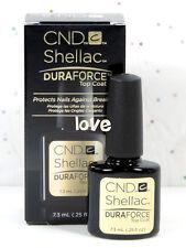 CND Shellac Gel Color UV Polish Small DuraForce Top Coat 7.3ml/0.25fl.oz