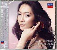 AKIKO SUWANAI-FRANCK & R.STRAUSS: VIOLIN SONATAS. TAKEMITSU...-JAPAN SHM-CD G88