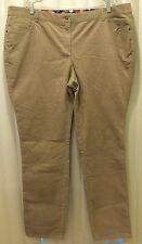 NEW ORG $78 BODEN WOMEN'S BEIGE SKINNY CORDS JEANS TROUSERS WM302 - SIZE US 18L