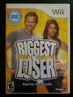 Biggest Loser Nintendo Wii WITH CASE & INSTRUCTION MANUAL BUY 2 GET 1 FREE