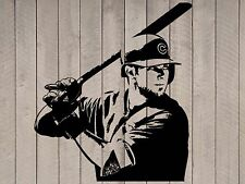 "Kris Bryant Cubs Chicago Baseball Player Vinyl Wall Sticker Decal 44""h x 38""w"