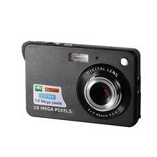 Cámara Digital Min HD 8x Zoom Foto 18MP de grabación de vídeo Negro Envío Gratis