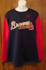Nike Atlanta Braves Long Sleeve T-Shirt Two Color Red & Blue MSRP $70 XL New MLB