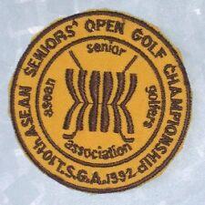 Asean Seniors Open Golf Championship Patch