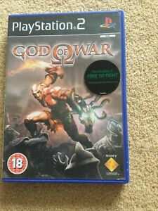 God of War, for Sony PlayStation 2, PS2, 2005