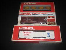 LOT OF THREE LIONEL RAIL CARS #9132,9786,9853