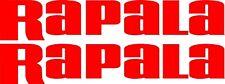 Rapala Stickers 2 x 800 mm x 140 mm  Quality Marine Grade Material.