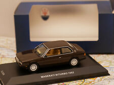 IXO MASERATI BITURBO DEALERS VERSION 1:43 NEW
