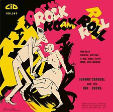 Johnny Carroll and his Hot Rocks ( EP ) 45 rpm ROCKABILLY - REPRO - REISSUE- NEW