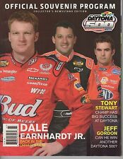 2006 Daytona 500 Official Souvenir Program - Dale Jr, Stewart, Gordon on Cover