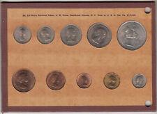 Great Britain 1953 Mint Set on Wayne Raymond Board
