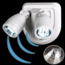 EASYmaxx Security LED Strahler 2 Spots Sicherheitsleuchte 14 LEDs Doppelstrahler