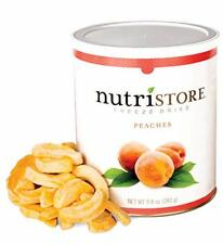 Freeze Dried Peaches Perfect Healthy Snack Emergency Survival Bulk Food Storage