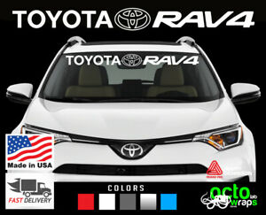 fits Toyota Rav4 accessories parts windshield decal sticker sport air filter top