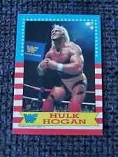 HULK HOGAN TOPPS CHEWING GUM WWF VINTAGE 1987 TRADING CARD - HULKSTAR HULKAMANIA