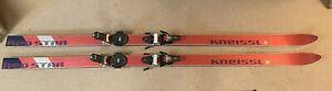 Vintage Kneissl Red Star Skis 195cm W/ Vintage Look Bindings