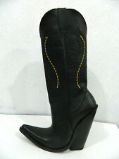 Men 7 inch heel cowboy boots made of genuine leather to your size 14¨tall shaft.