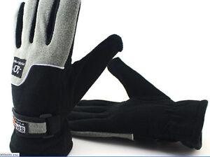 Mens Outdoor Warm Winter Gloves Fleece Ski Snowboard Snow Mitten Stock