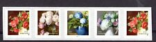 5233-36 Flowers from the Garden PNC5 Plate B1111 (Coil Strip of 5) 2017 MNH