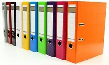 10x Livepac Caribic Glanz-Ordner / DIN A4 / 75mm breit / 10 verschiedene Farben