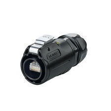 RJ45 Plug Connector Waterproof IP67 Plug/unplug