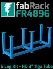 "CertiFlat FR4896 48""x96"" FabRack CNC Laser Tube 6 Leg Kit for FabBlock Tables HD"
