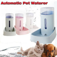 Automatic Pet Waterer Non-slip Dishes Fountain   Cats Dog Feeder Bowl Dispenser