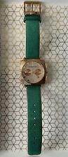 Ladies BCBG Maxazria Elite Chronograph Diamond Faced Watch BG6264 Leather Band