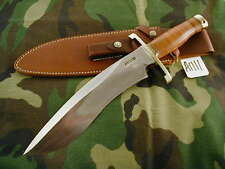 Randall Knife Knives Large Sasquatch,#744,Lh,Bl.-B.S , Leather,Bb,Wt #A1111