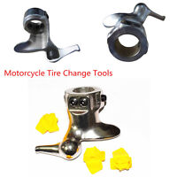 B Blesiya Tire Changer 28mm Cast Steel Motorcycle Tire Changer Duck Head Mount Demount Duckhead Tool Including 3 Pads