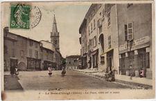 CPA -69-  LE BOIS-d'OINGT - La Place côtés est et ouest.