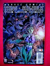 MARVEL COMICS THE THING & SHE HULK # 1 MAY 2002 The Long Night Team Up