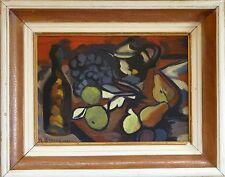 Marcel BROUNS (1920-?) HsP Signée Années 50 /  Expressionniste Expressionnist