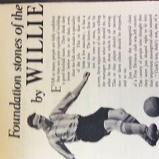 A1c ephemera  football 1950s article  willie watson sunderland