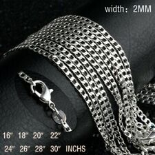 Cadena / Collar Plata 925 Eslabón 45 cm / 2mm