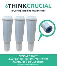 3 Jura Clearyl White Water Filter Fits Coffee Machines Z5 Z6 E8 E9 J5 F60 64553