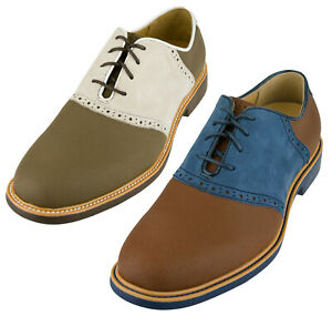 Cole Haan Men's Great Jones Saddle II Oxfords Shoes, Color Options