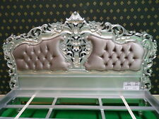 Super King size Size 6'  French mahogany french shabby chic Rococo Bed