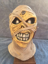 Halloween Costume IRON MAIDEN EDDIE - POWERSLAVE MUMMY Latex Deluxe Mask Haunted