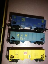 Ho 3 Short Coal Hoppers L&N ,D&H  & GBW all In Great Cond.