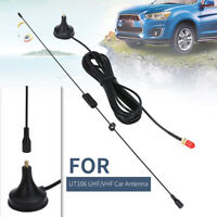 UHF/VHF SMA-F Dual Band Car Radio Antenna UT106 for BAOFENG UV5R/Puxing/TYT