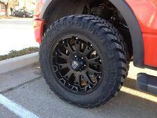 "XD Misfit 17"" Wheels W/ 35 12.50 17 Nitto Tires"