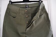 "MENS GENUINE ALEXANDER MCQUEEN JEANS IN DARK GREEN 32 "" W 32"" L"