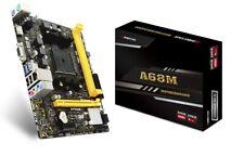 BIOSTAR A68MHE AMD Socket Fm2 Hdmi/vga Micro ATX USB 3.2 Ddr3 Motherboard