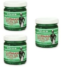 3X Pinaud Clubman Hair Styling Gel for Men 16 oz -  FREE PRIORITY Shipping