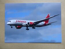 B 787- 8   AVIANCA COLOMBIA    N781AV
