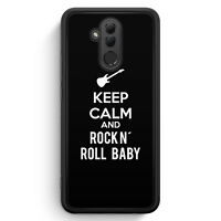 Keep Calm And Rock N´ Roll Baby Huawei Mate 20 Lite SILIKON Hülle Cover Spruc...
