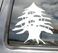 Lebanon Cedar Tree - Lebanese - Car Auto Window Vinyl Decal Sticker 10041